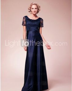 Scoop Floor-length Sheath/Column Mother Bride Dress With Lace http://www.lighttothebox.com/wedding-party-dresses/mother-of-the-bride-dresses.html