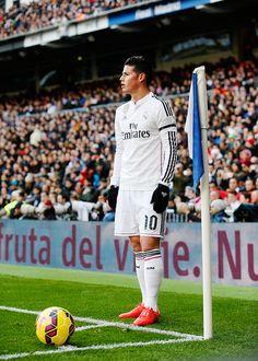 31.1.15 Real MAdrid vs Real Sociedad. James Rodrigues