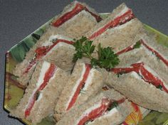 Smoked Salmon And Wasabi Tea Sandwiches Recipe - Food.com