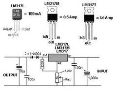 Linear regulator LM317x