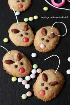 Little Mouse Cookies - Biscottini topolini