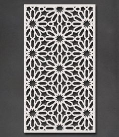 Choose from a range of Decorative Screen designs or custom designed and laser cut. Door Gate Design, Main Door Design, Screen Design, Motif Arabesque, Decorative Screen Panels, Jaali Design, Cnc Cutting Design, Laser Cut Panels, Moroccan Stencil