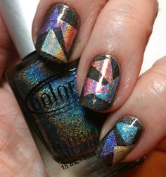 Nailpolish is My Crack: MSMD with Color Club Halo Hues 2013