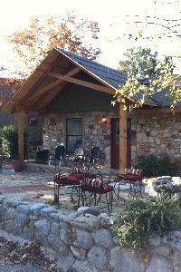 Carol's Cottage in the quaint Methodist Encampment neighborhood - Kerrville Weekend Getaways, Swimming Pools, Gazebo, The Neighbourhood, House Ideas, Cottage, Outdoor Structures, Swiming Pool, Pools