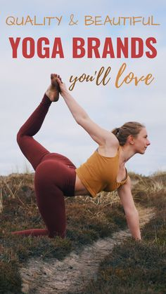 The best yoga brands out there producing high quality and beautifully designed yoga wear, yoga mats, and yoga props. Cute yoga clothes such as yoga pants, yoga leggings, yoga bras, yoga tops. Nice & high quality yoga gear and props such as yoga blocks, yoga straps, yoga wheel, bolsters, feetup, meditation cushions etc. Everything you need to thrive in your yoga practice and make an investment in your home yoga practice with props that last. Sweat proof sticky mats #yoga #yogapractice…