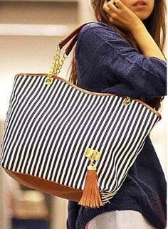 Marine style bag..... Love this!