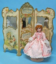 """Jean Nordquist's French Repro Tri Panel Screen Kit for 8"""" to 12"""" fashion dolls   eBay"""