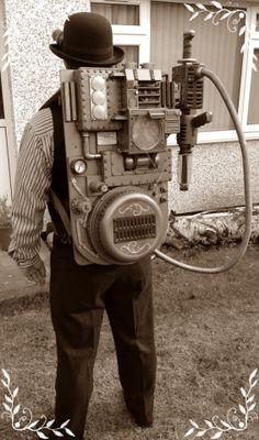 Photo by James Mclardy Steampunk House, Steampunk Gears, Steampunk Cosplay, Steampunk Clothing, Steampunk Fashion, Alice In Wonderland Steampunk, Ghost Busters, Dieselpunk, Game Design
