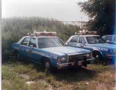 NYPD blue and white RMP radio car cars Police Vehicles, Emergency Vehicles, John Law, Tactical Medic, Old Police Cars, Smokey And The Bandit, New York Police, Car Badges, Police Uniforms