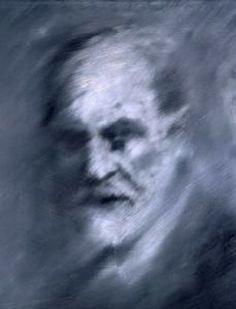 Gerhard Richter,   Studie zu Werknummer 324 (Freud) Study for CR: 324 (Freud)  1971 70 cm x 55 cm Catalogue Raisonné: 323-3  Oil on canvas