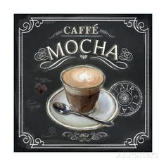 Coffee House Caffe Mocha Giclee Print by Chad Barrett at AllPosters.com