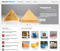 25 Websites To Download Free STL Models For 3D Printers. Note that Thingiverse is #1.
