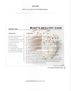 healthy smash cake directions beka web Recipes to Try Pinterest