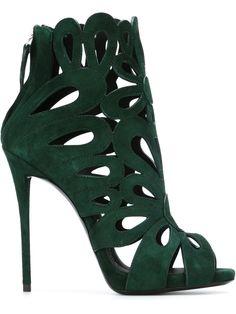 Giuseppe Zanotti Design Rear Zip Sandals - Satù - Farfetch.com