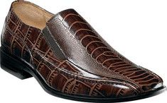 Click Image Above To Purchase: Stacy Adams Teague 24599 (men's) - Brown  Ostrich