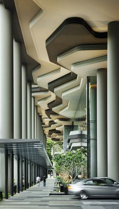 PARKROYAL on Pickering | Architects: WOHA | Location: Singapore, Singapore | Photographs: Patrick Bingham-Hall
