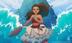 I am Moana! by Kaisel Moana Disney, Disney Pixar, Disney Animation, Disney And Dreamworks, Disney Characters, Punk Disney, Animation Movies, Disney Princesses, Disney Kunst