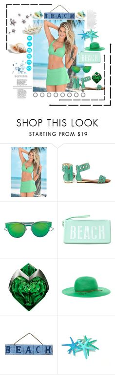 """""""Beautiful"""" by emypoyvore ❤ liked on Polyvore featuring Venus, Modern Rush, Christian Dior, Maison Margiela, Thierry Mugler, House of Lafayette and NOVICA"""