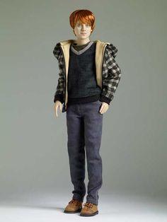 Deathly Hallows Ron Weasley Tonner Doll - Name of Doll: Deathly Hallows Ron Weasley --  Actor's Likeness: Rupert Grint