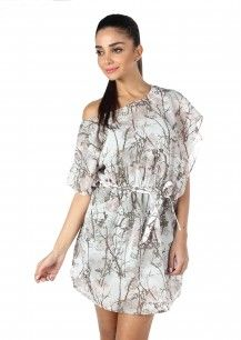 MOJO Cotton Viscose Tie-Waist Kaftan Dress  Rs. 2,400