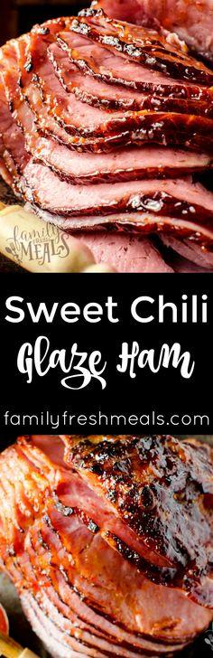 Sweet Chili Glaze Ham
