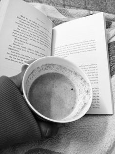 Good book,  hot chocolate,           Cold weather!  My night!