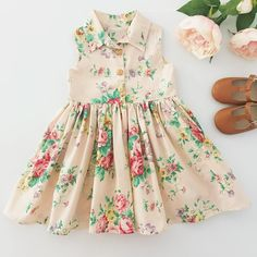 Annalize clothes in stock on the site – along with a few extras … - Kids Fashion Baby Girl Frocks, Frocks For Girls, Dresses Kids Girl, Little Girl Outfits, Little Dresses, Kids Outfits, Little Girl Dress Patterns, Kids Dress Patterns, Kids Frocks Design