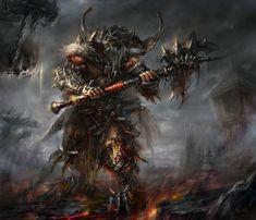 Diablo 3 Barbarian Concept Art Drawing - Blizzard Not Conan the Barbarian Larp, Conan The Barbarian, Barbarian Build, Barbarian Armor, Barbarian King, Character Wallpaper, Fantasy Artwork, Fantasy Characters, Fantasy Heroes