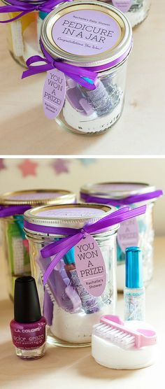 Pedicure in a Mason Jar   Click Pic for 24 DIY Christmas Gift Ideas for Friends   DIY Christmas Gift Ideas for Women
