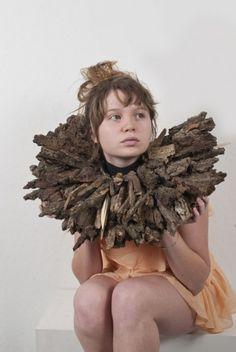 Wearable Sculpture By DANIRO ELLE BROWN -USA Images © Daniro Elle