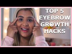 Top 5 Home Remedies For Growing Your Eyebrows! Can you tell how much I love using products that you can literally find in your kitchen? Eyebrow Growth, Growth Hacking, Good To Know, Home Remedies, Eyebrows, Youtube, Growing Eyebrows, Eye Brows, Brows