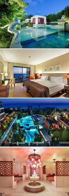 Op een oppervlakte van ruim 16.000 m² biedt Sensimar Side Resort & Spa (gelegen nabij de Turkse badplaats Side) een dusdanig groot aanbod aan faciliteiten dat vervelen geen optie is! Wat dacht je van een buffet- en twee à la carte restaurants, een handjev