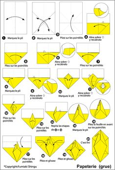 pliage d 39 une lettre enveloppe origami ami diy envelope. Black Bedroom Furniture Sets. Home Design Ideas