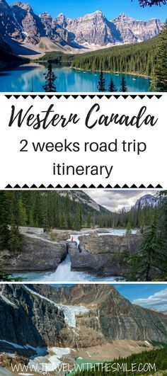 Are you planning a road trip through the Canadian Rockies and don't know where to start? Our detailed suggested itinerary includes all the incredible places you can visit, budget & road trip tips. Things to do in Canadian Rockies | Hiking in Canada | Canadian Rockies | Canada road trip | Banff National Park | Jasper National Park | Yoho National Park | Calgary to Vancouver | #canada #canadianrockies #banff #hiking #neverstopexploring