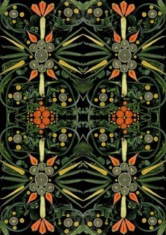 <p>Hargreaves   Levin creates a series of food scans that showcases the beauty of seasonal fruit and vegetables. Exposing nature's own artistry, the project focuses on natural details and curves, wher