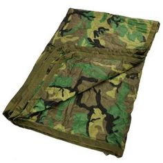 Browse emergency foil blankets, disaster blankets and genuine military blankets. From natural wool blankets to cotton blends and fire resistant materials. A blanket can be useful in a survival kit, for camping, or just use at home. Army Surplus, Wet Weather, Survival Kit, Wool Blanket, Woodland, Blankets, Outdoor Blanket, Textiles, Outdoors