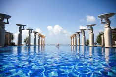 The Mulia is in Nusa Dua on the Eastern side of Bali