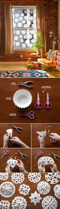 DIY Crafts with Coffee Filters