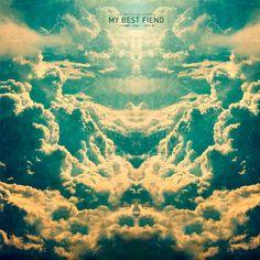 Stylish album artwork designed by artist Leif Podhajsky for My Best Fiend.