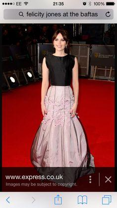 Felicity Jones BAFTAS 2015