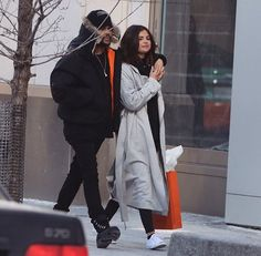 Selena gomez and the weekend where spotted in Toronto