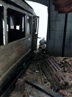 Stalingrad Sewers | Scale model | Diorama | Vignettes