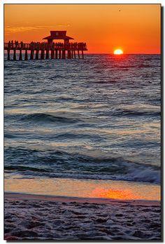 Naples Pier. Florida