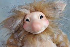 OOAK Pixie Art Doll  Muggle by Ksheyna Nightswood by nightswood