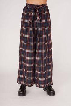 dbf802e3cfbacd Pantalone con fiocco - verde scozia. Pantalone con fiocco | Pantaloni  Vestibilità regular Modello palazzo Vita alta ...