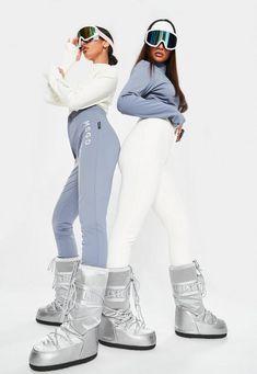 Mode Au Ski, Ski Girl, Snow Outfit, Snowboarding Outfit, Winter Outfits, Ski Outfits, Ski Fashion, Missguided, Skiing