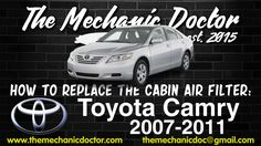 This video will show you step by step instructions on how to easily replace the cabin air filter on a Toyota Camry Camry 2007, Toyota Camry, Step By Step Instructions, Filters, Cabin, Air Filter, Wheels, Nice, Cabins