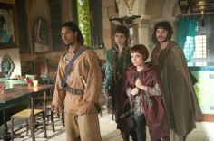 A band of plucky adventurers, from BBC's Sinbad.