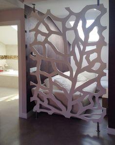 Fabricación de celosias para decoración interior y exterior, celosias diseño personalizado, separadores de ambientes, celosias organicas, paneles decorativos