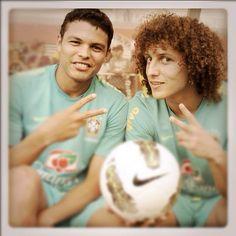 Thiago Silva David Luiz Baby